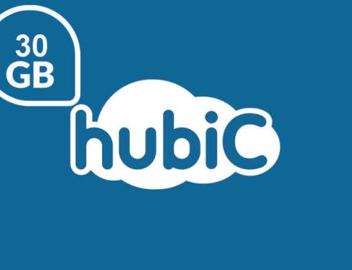 Obtén 30GB de Almacenamiento en la nube con hubic