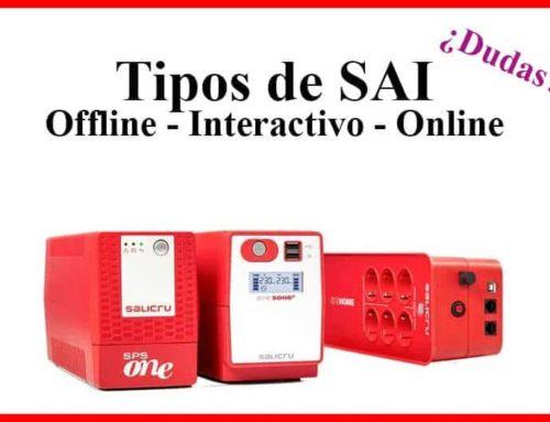 Tipos de SAI (Online, Interactivo y Offline) ¿Cual Compro?